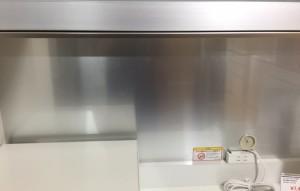 パモウナ食器棚アルミバックボード